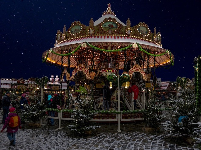 Christmas markets in Nuremberg date back to 1628.