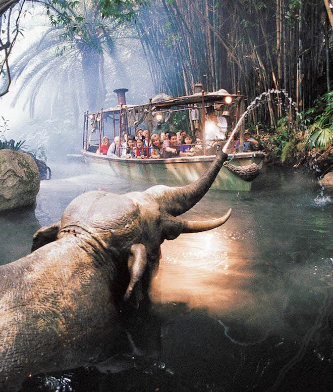 Jungle Cruise. Image Disneyland Resort.
