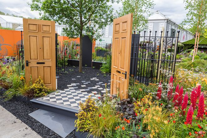 The Modern Slavery Garden - CREDIT: RHS : Sarah Cuttle.