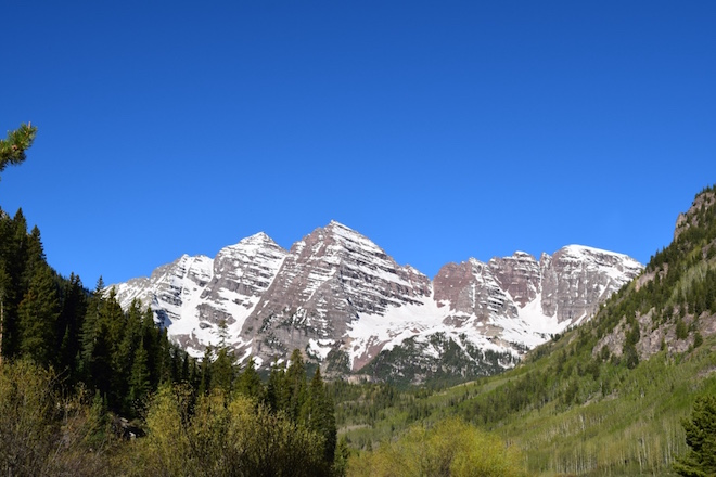 Peaks of Maroon Bells - Image credit Jason Dutton-Smith