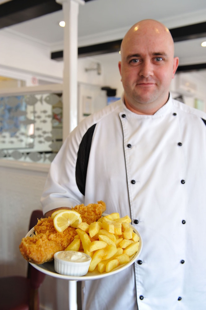 Fish and Chips is the quintessential English seaside food - Image Andrew Marshall