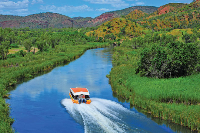 Cruising the Kimberley in Western Australia - Image courtesy Scenic