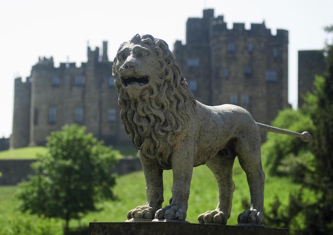 Alnwick Castle, one of the many great castles in Northumberland – Image credit Paul Marshall
