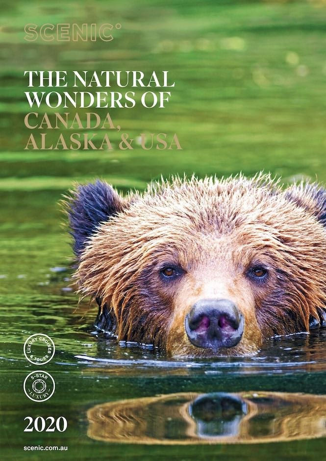 Scenic Canada, Alaska and USA Brochure 2020