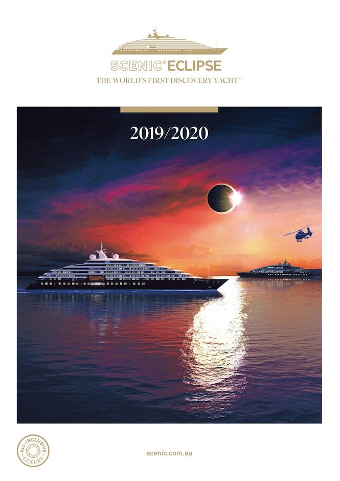 Scenic Eclipse brochure cover - click to view brochure online