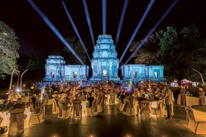 Angkor Wat Temple gala dinner