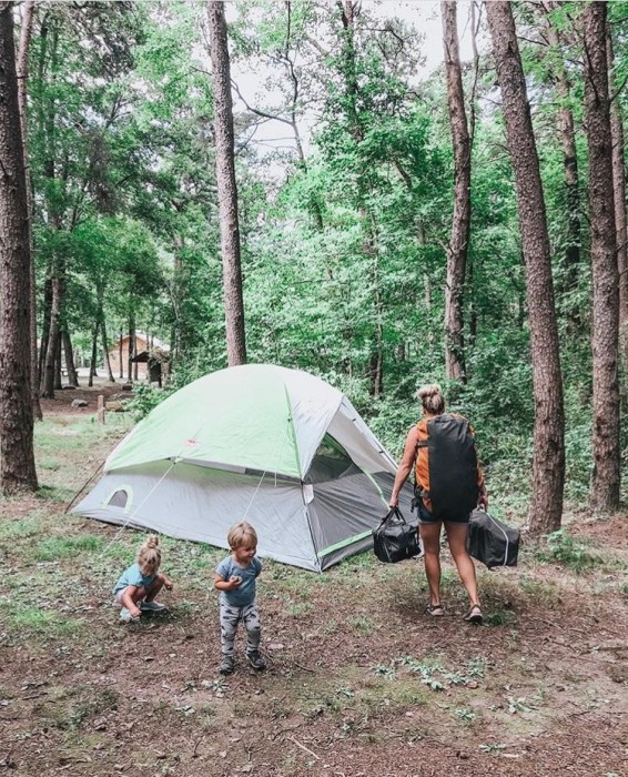 Big Brave Nomad from Instagram in De Soto State Park, Alabama