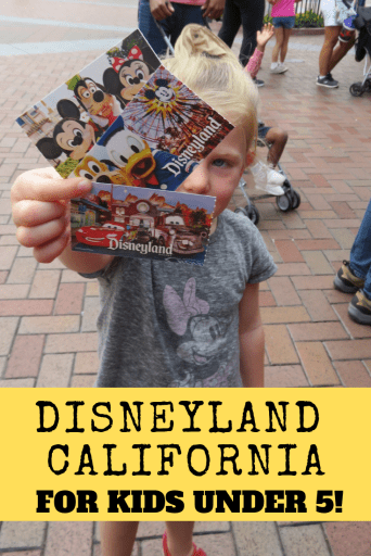 Disneyland California for Kids Under 5