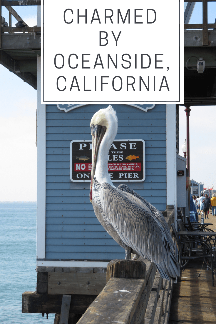 Charmed by Oceanside, California