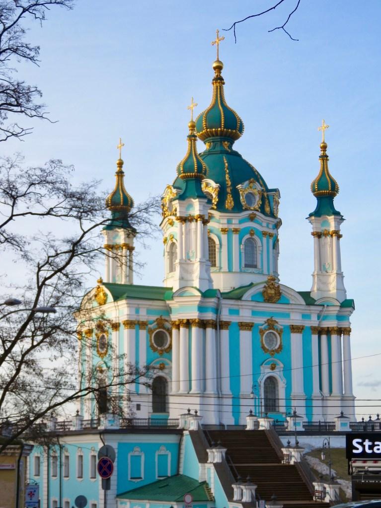 St Andrew's - Kiev's churches