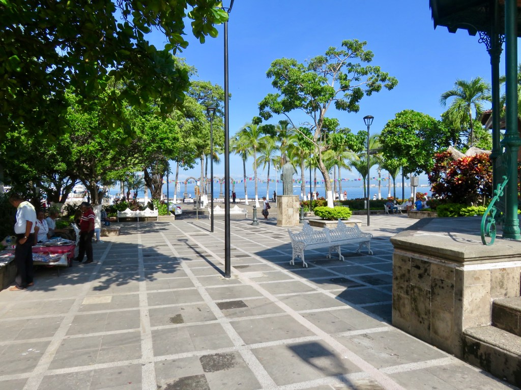 Walk from The Arches on the waterfront to Puerto Vallarta Cathedral.