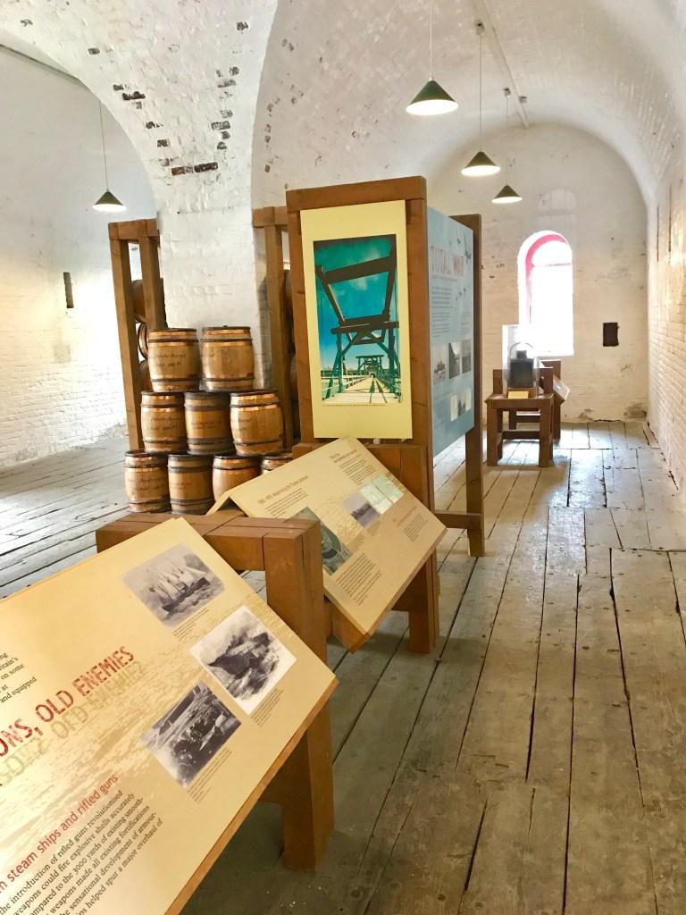 Gunpowder room exhibition