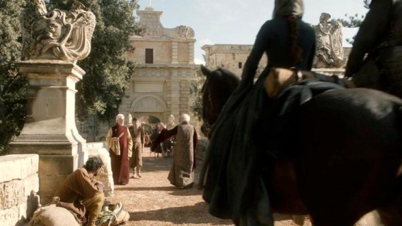 Mdina Gate in season 1 Game of Thrones