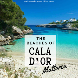 Beaches of Cala d'Or in Mallorca