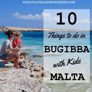 10 Things to do in Malta's Bugibba with Kids