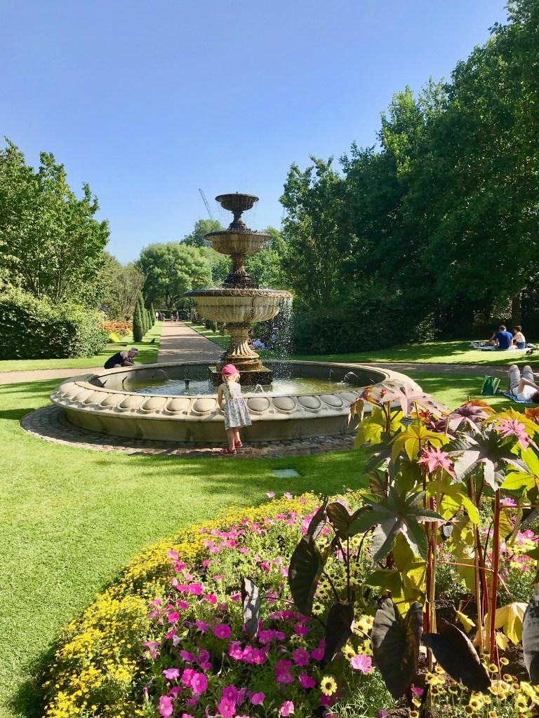 English Gardens Regents Park