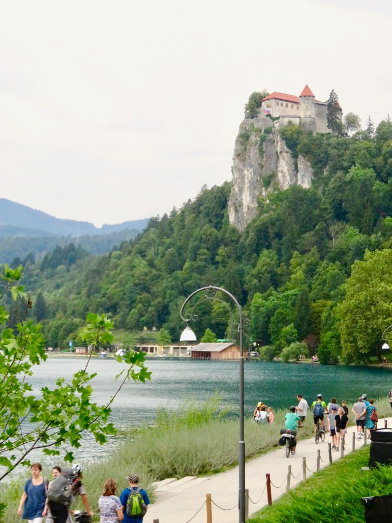 Bled castle - Lake Bled with kids