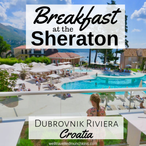 Breakfast at the Sheraton Dubrovnik Riviera