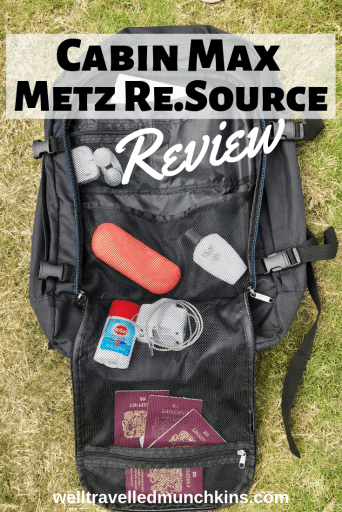 Cab Max Metz Re.Source backpack