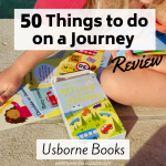 50 Things to do on a Journey by Usborne Books