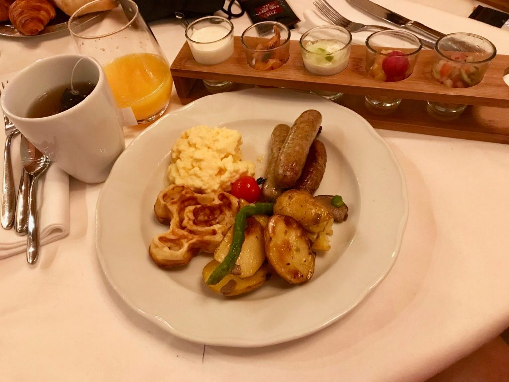 Breakfast at the Princess Breakfast at Disneyland Paris