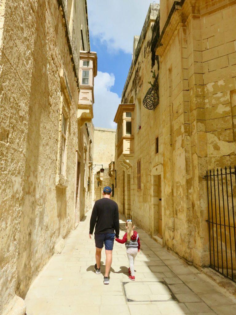 Mdina - Malta with Kids