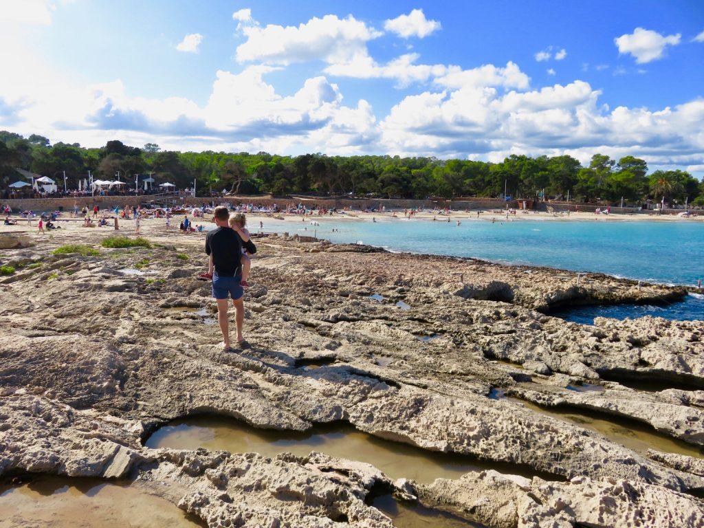 Cala Bassa - Ibiza with kids
