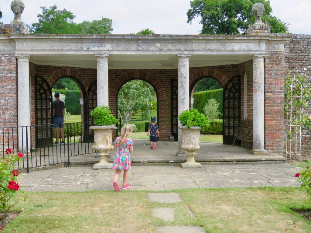 Herstmonceux Castle gardens