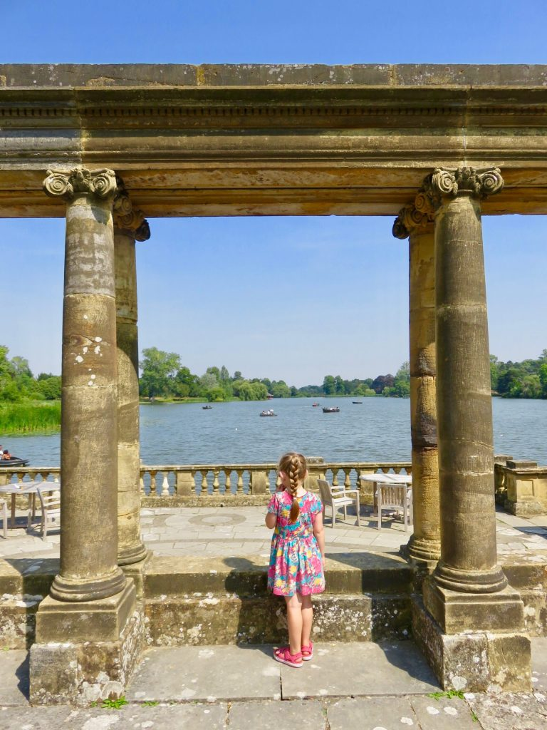 Hever Castle in Kent The Lake