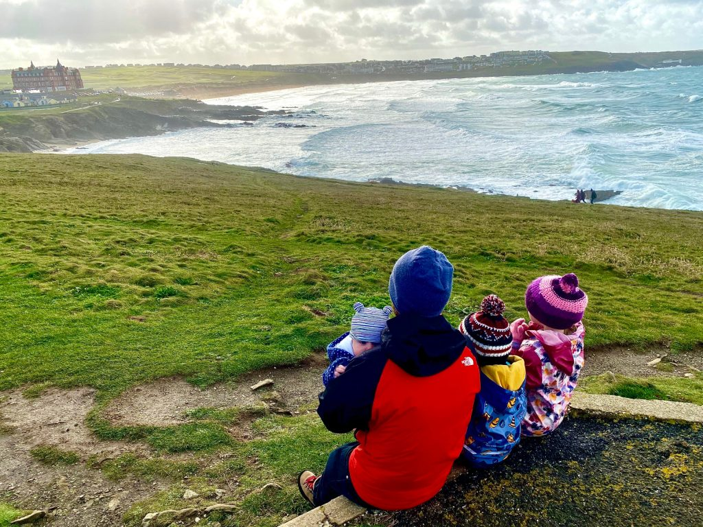 Towan Headland - Newquay with kids