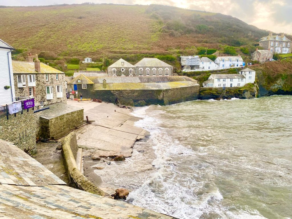 Port Isaac with kids