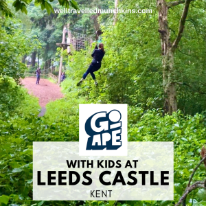 Go Ape with Kids at Leeds Castle