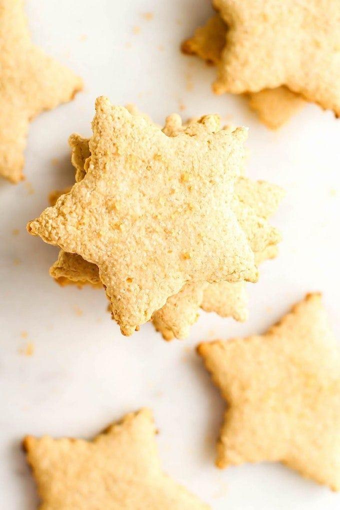 vegan christmas cookie