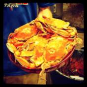 Serving Crabs in Charlestown, MD