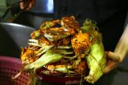 Best steamed crabs at The Wellwood in Maryland