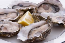 Oysters at The Wellwood Restaurant Maryland