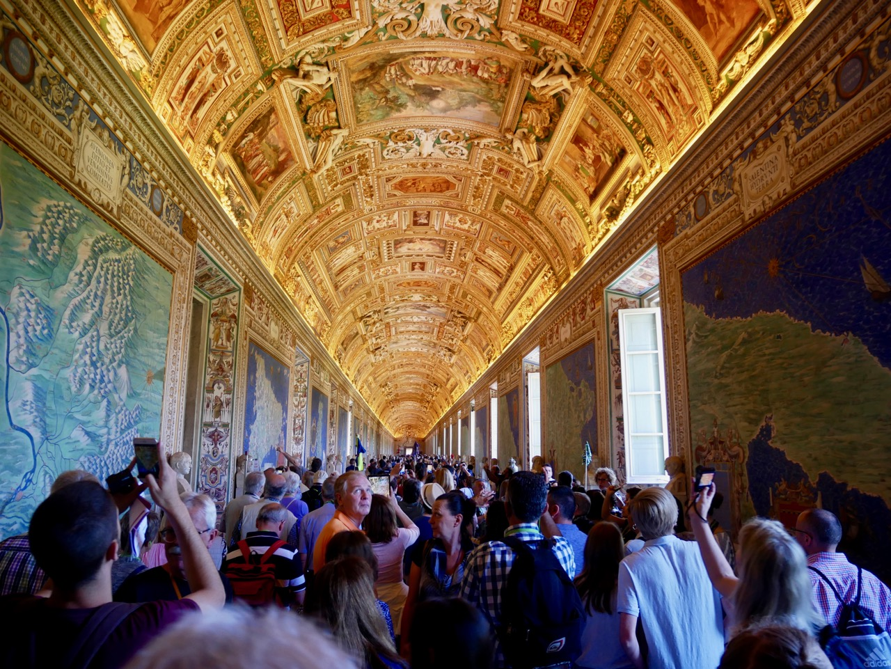 Lines, Angry Tourists, and the Pope