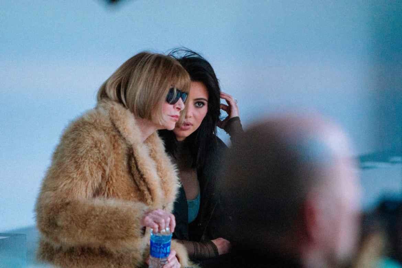 Kanye West Yeezy season 1 backstage