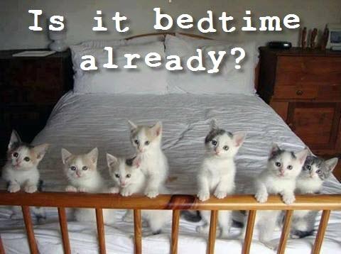 is it bedtime