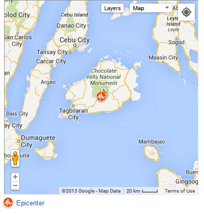 October 15 Earthquake Bohol Cebu
