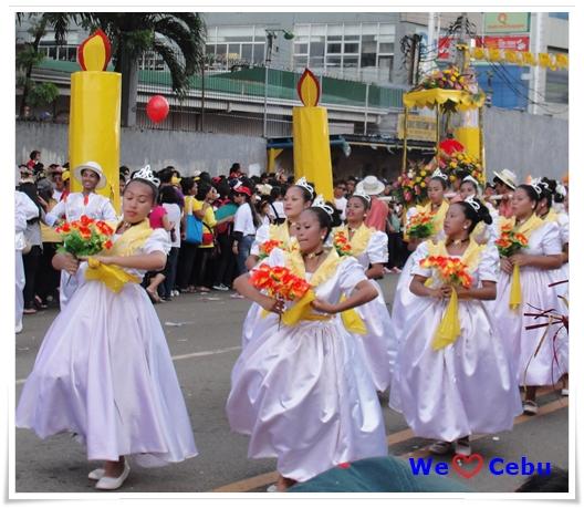 Sinulog Festival Street Dancing
