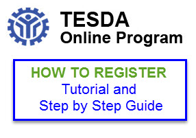 TESDA Registration Tutorial Step by Step Guide