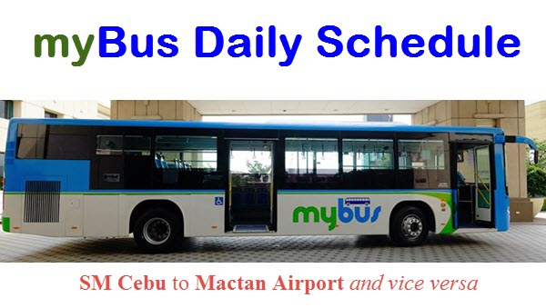 MyBus Cebu Airport to SM Cebu