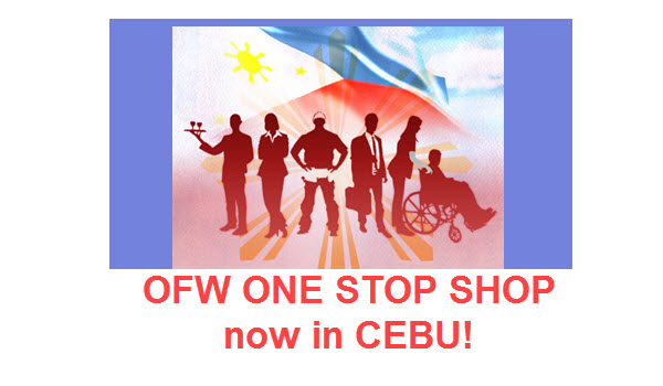 One Stop Shop for OFWs in SM City Cebu
