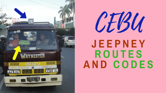 Commuting Guide: Cebu Jeepney Routes and Codes