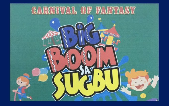 BIG BOOM Sa SUGBO in SRP 2017 Opening | Closing, Entrance Fee, Rides