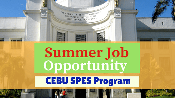 Summer Job 2018: Special Program for the Employment of Students