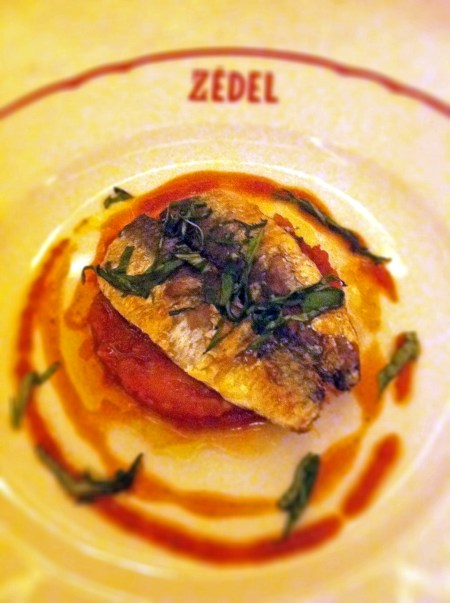 Sardines à la Provençal Brasserie Zedel We Love Food, It's All We Eat