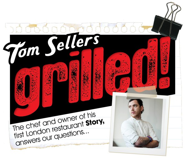 TOM SELLERS, Grilled. We Love Food, It's All We Eat