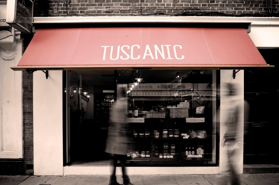 A little slice of Tuscany in Soho | Tuscanic, 72 Old Compton Street, London W1D 4UN